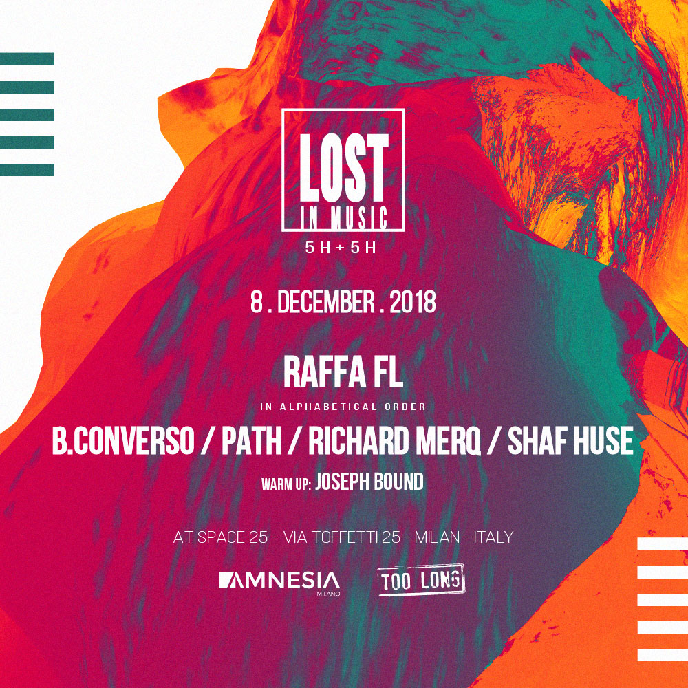 LOST IN MUSIC w/ RAFFA FL & more