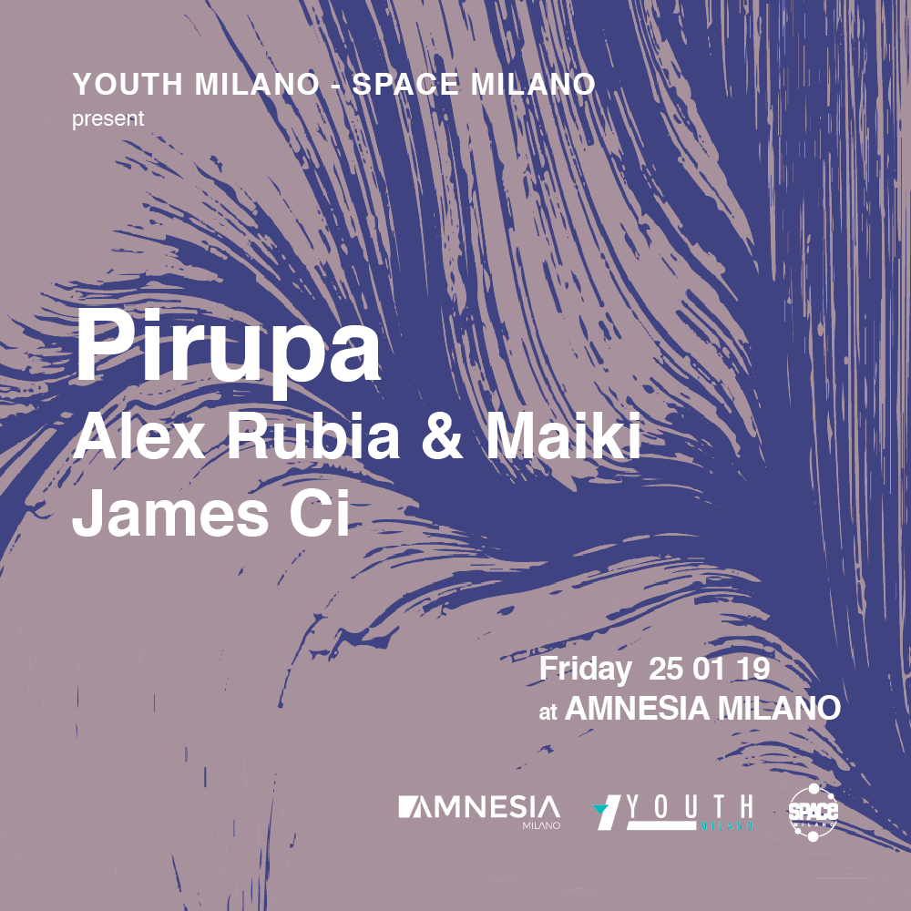 Pirupa, Alex Rubia & Maiki, James Ci