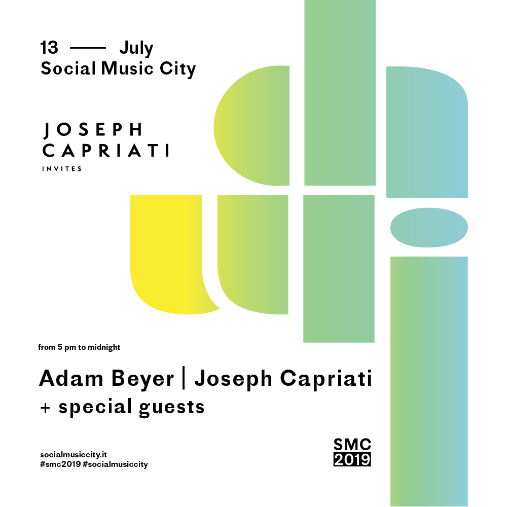 JOSEPH CAPRIATI invites at SMC2019