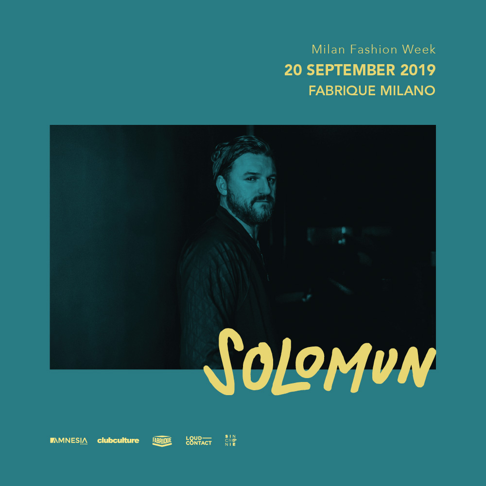 Solomun at Fabrique Milano